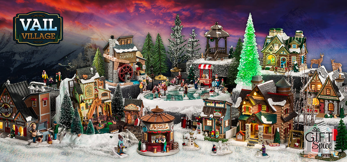 Lemax 2020 Christmas Village House Gift Spice | Official Lemax Village Collection Retailer: Shop Now