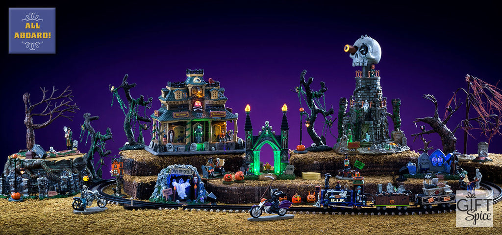 Lemax Spooky Town Train for Halloween