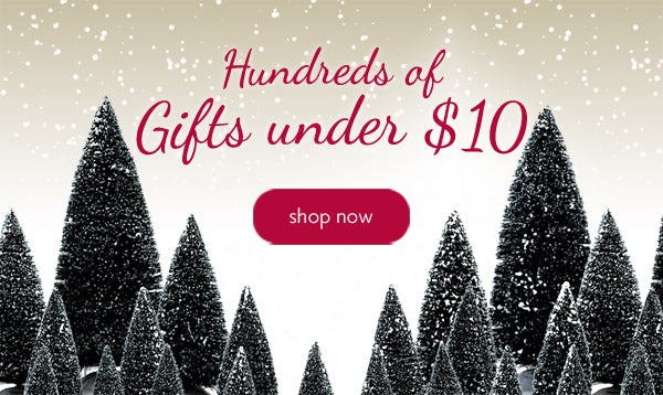 Lemax Gifts under $10
