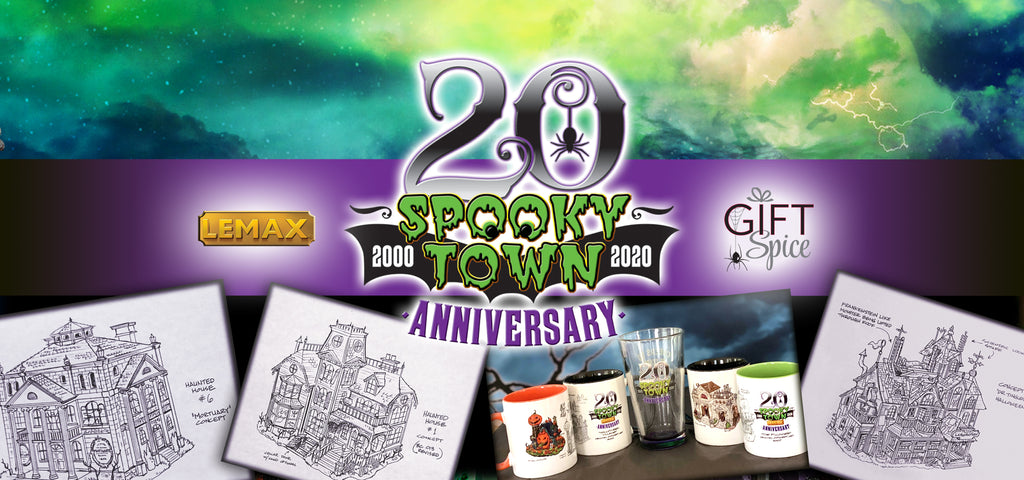 Lemax Spooky Town Anniversary items