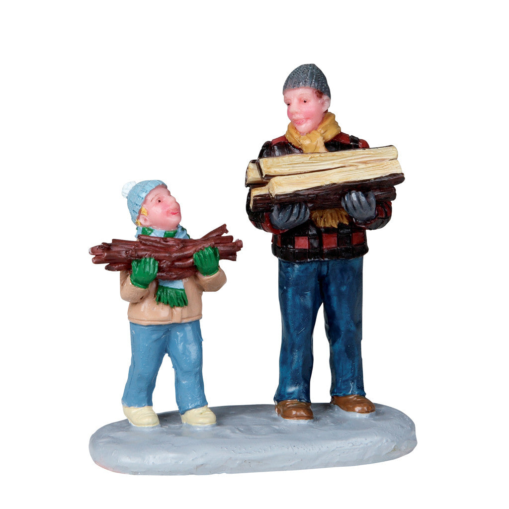 Lemax 02807 Firewood for the Hearth, Figurine- Gift Spice