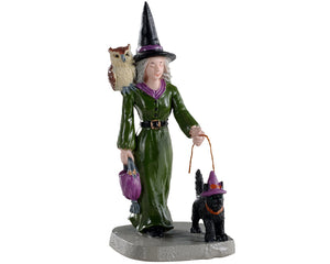 Lemax 02906 Witch Shopping, Figurine- Gift Spice