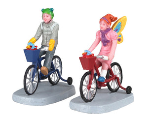 Lemax 02909 Candy Cruisers, Set of 2, Figurine- Gift Spice
