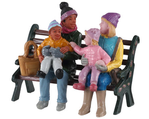 Lemax 02939 A Day At the Park, Figurine- Gift Spice