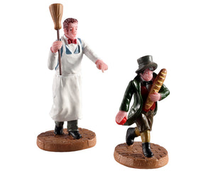 Lemax 02947 Artful Dodger, Set of 2, Figurine- Gift Spice
