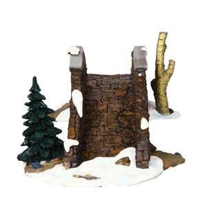 Lemax 03328 Olde Stone Bridge, Table Piece- Gift Spice