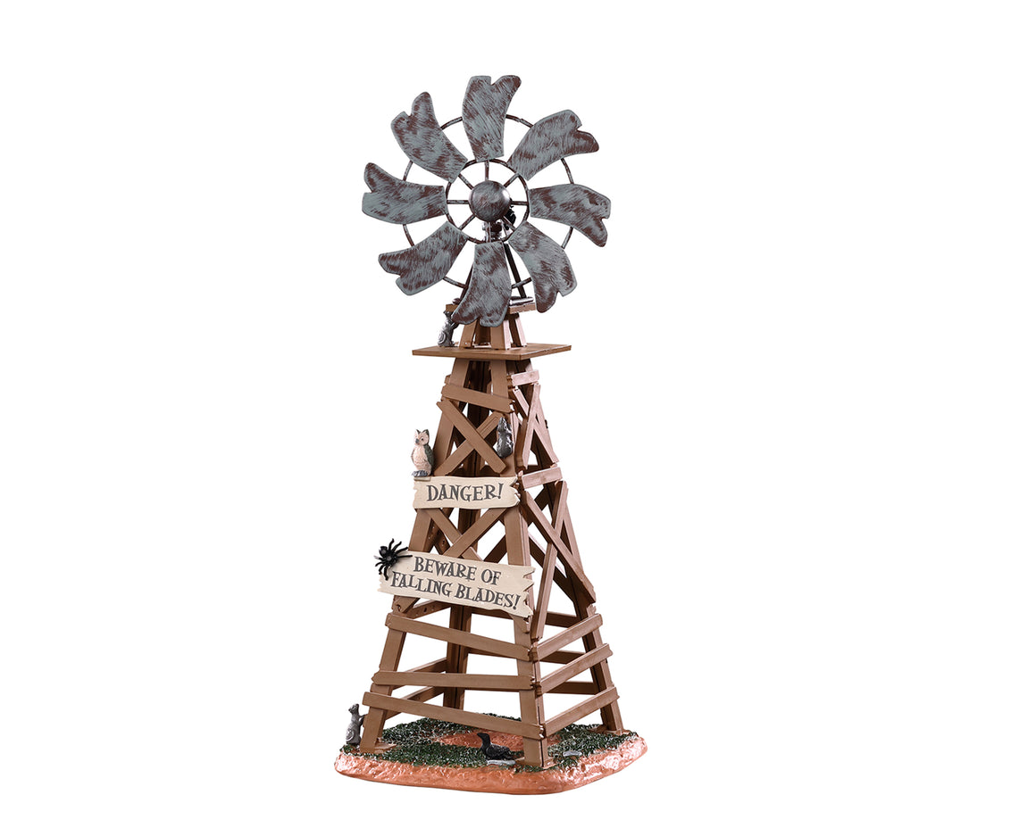 Lemax 03508 Spooky Windmill, Table Piece- Gift Spice