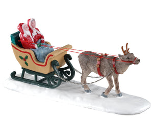 Lemax 03514 North Pole Sleigh Ride, Table Piece- Gift Spice