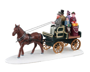 Lemax 03516 Jaunting Car, Table Piece- Gift Spice