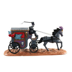 Lemax 03517 Phantom Coach, Table Piece- Gift Spice