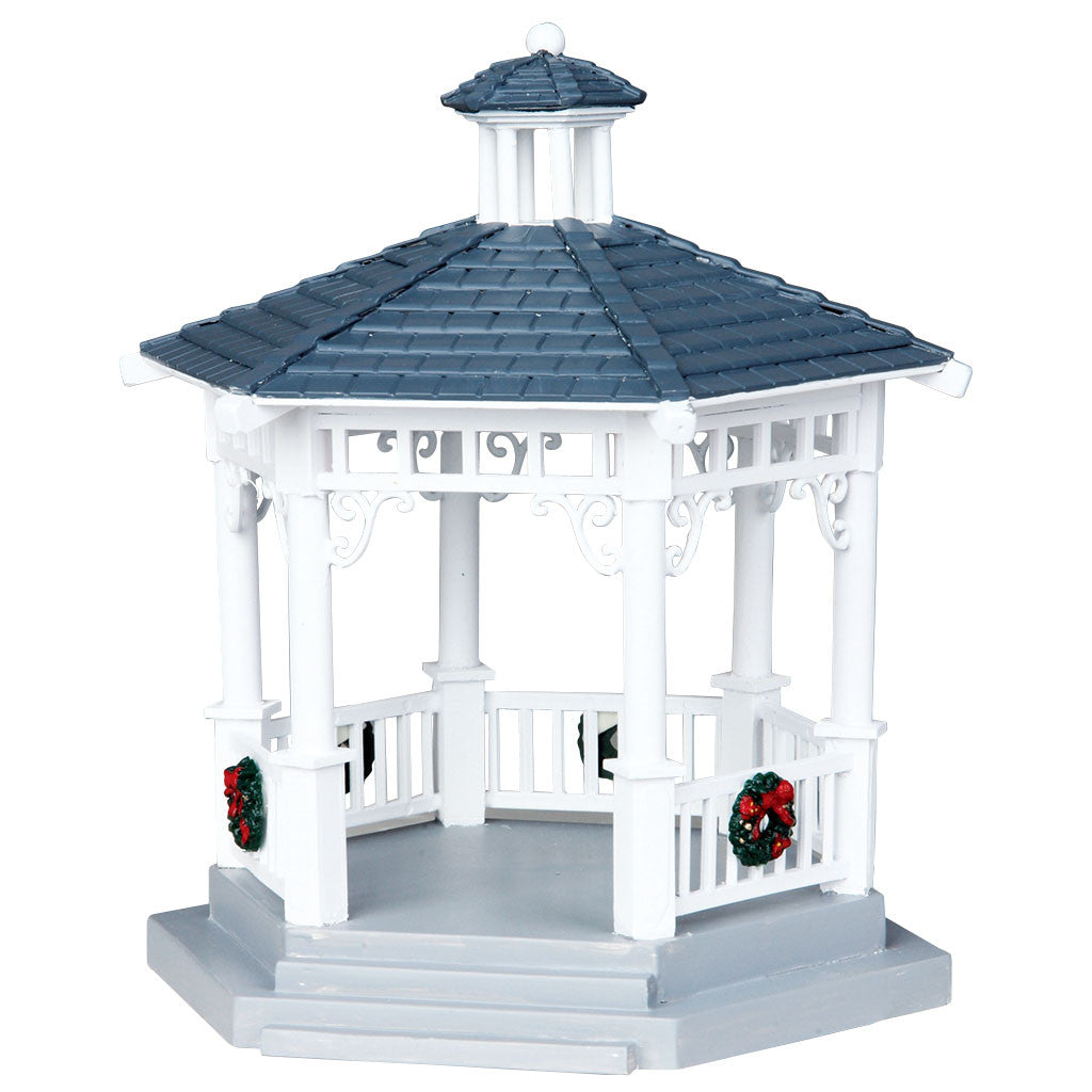 Lemax 04160 Plastic Gazebo, Table Piece- Gift Spice