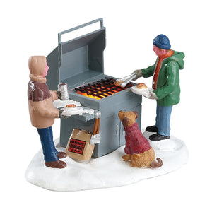 Lemax 04234 Grillin' & Chillin' B/O (4.5V), Table Piece- Gift Spice