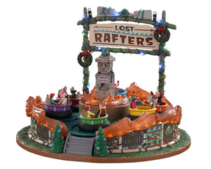 Lemax 04722 Lost Rafters, Sights and Sound piece- Gift Spice