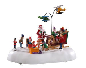 Lemax 04723 Jolly Toys, Animated Table Piece- Gift Spice