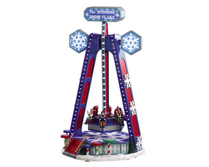 Lemax 04737 The Spinning Snowflake, Sights and Sound piece- Gift Spice