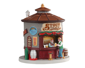 Lemax 04745 The Stout Shack, Animated Table Piece- Gift Spice