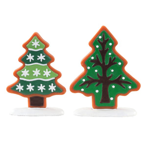 Lemax 04766 Sugar Cookie Trees, Accessory- Gift Spice