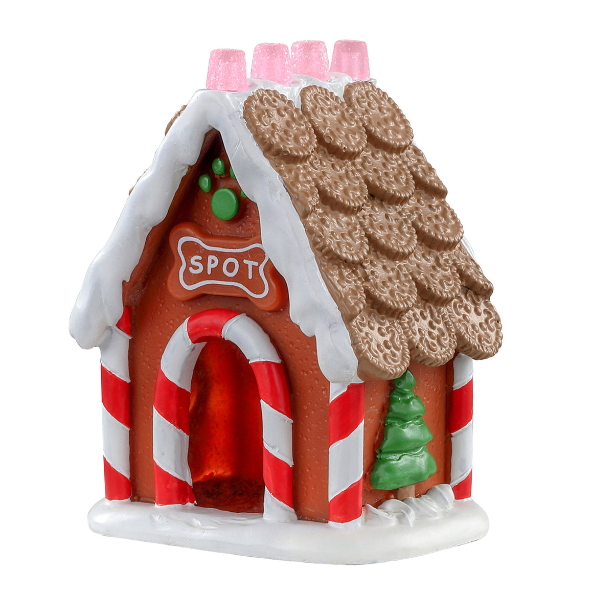 Lemax 04767 Dog House, Accessory- Gift Spice