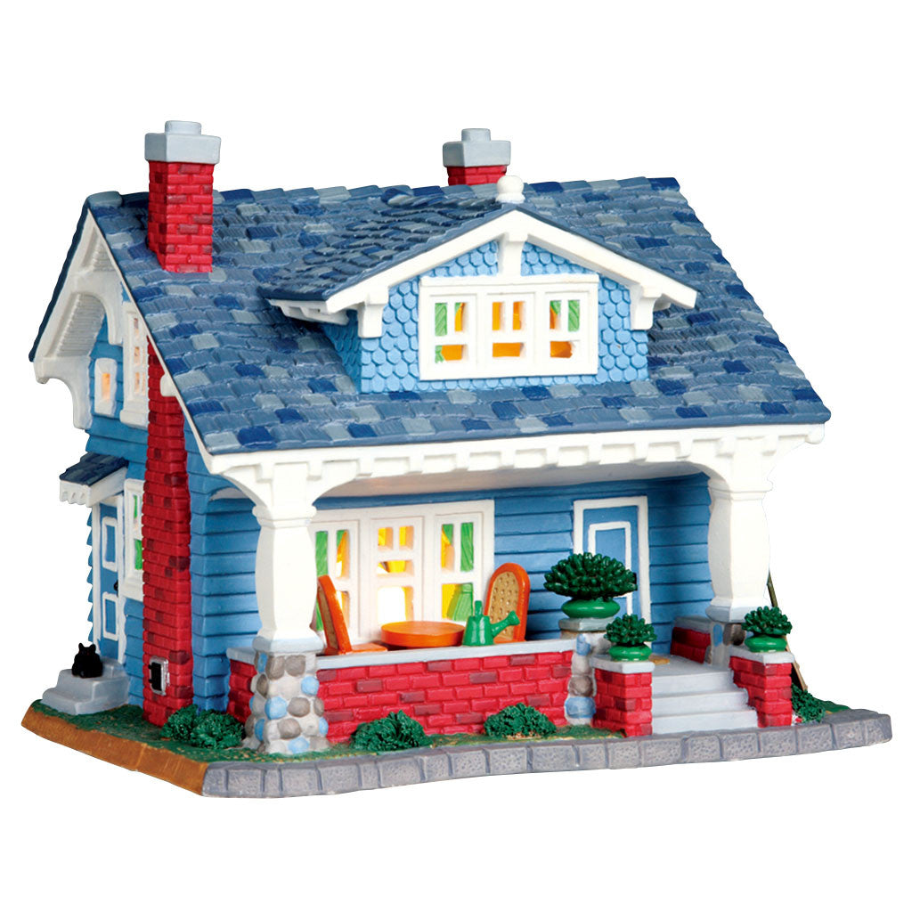 Lemax 05031 Caldwell Cottage, Standard Lighted Building- Gift Spice