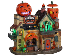Lemax 05602 The Ghoulish Gourd Pub & Grill, Sights and Sound piece- Gift Spice