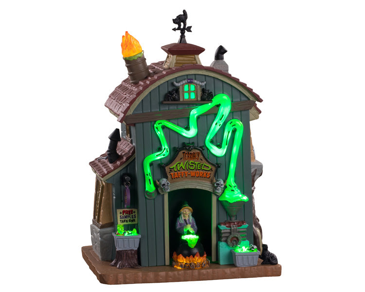 Lemax 05607 Terribly Twisted, Exterior Lighted House- Gift Spice