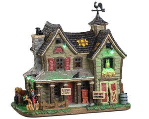 Lemax 05608 Frightmore Farm, Exterior Lighted House- Gift Spice