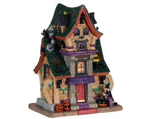 Lemax 05613 Wanda's Wicked Home, Standard Lighted Building- Gift Spice