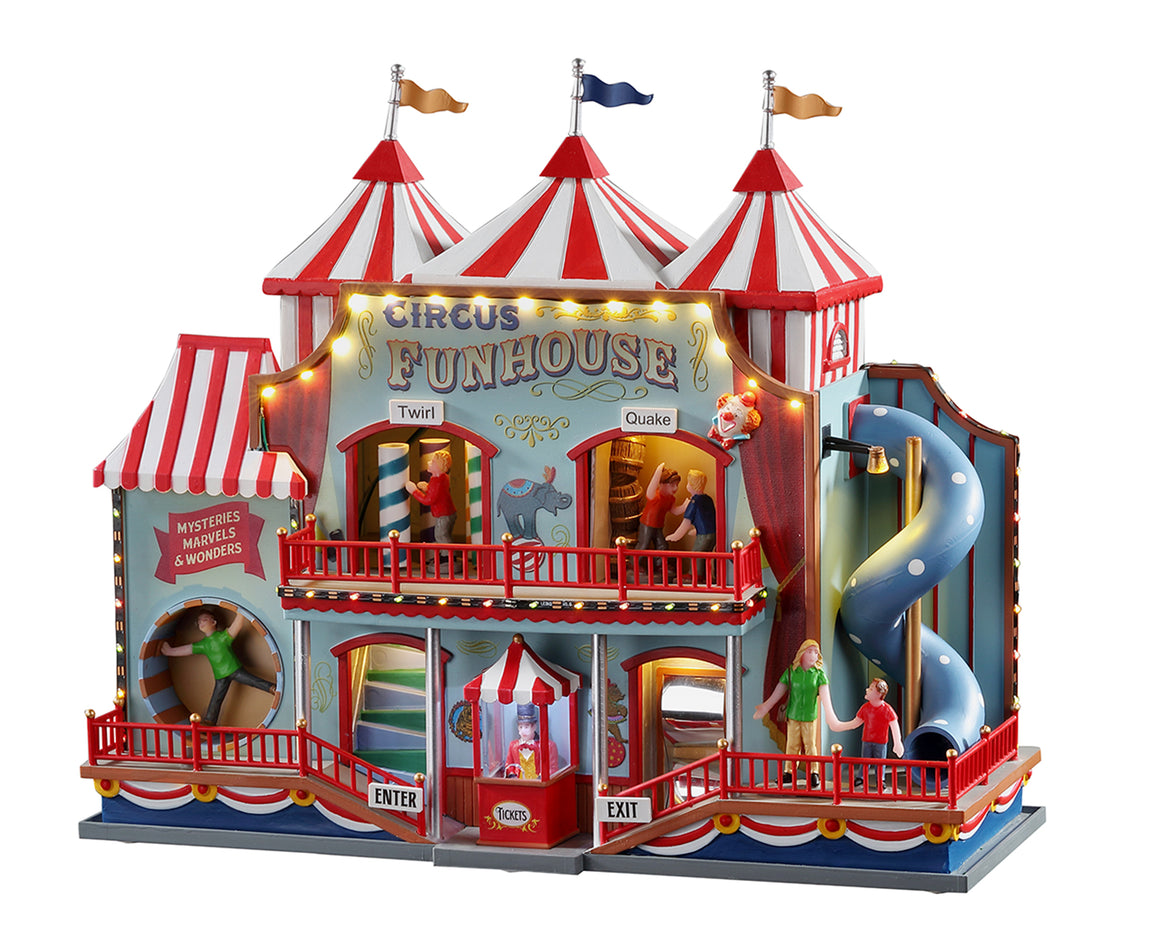 Lemax 05616 Circus Funhouse, Sights and Sound piece- Gift Spice