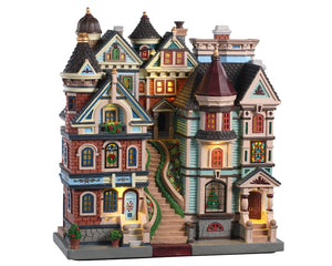 Lemax 05617 Houses On A Hill, Facade- Gift Spice