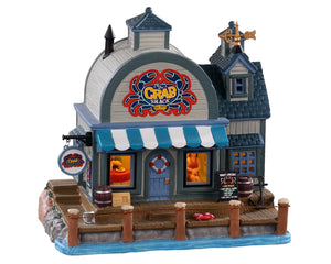 Lemax 05630 The Crab Shack, Standard Lighted Building- Gift Spice