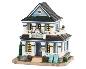 Lemax 05631 Blue Heron Inn, Standard Lighted Building- Gift Spice