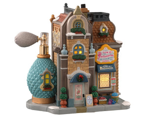 Lemax 05658 Plum St. Perfumeries and Chemist, Standard Lighted Building- Gift Spice