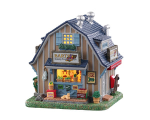 Lemax 05663 Bart's Country Produce & Crafts, Standard Lighted Building- Gift Spice