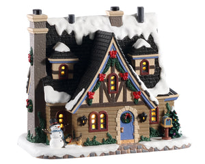 Lemax 05666 Bristol Estate, Standard Lighted Building- Gift Spice