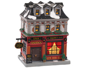Lemax 05671 The Yorkshire Pub & Restaurant, Standard Lighted Building- Gift Spice