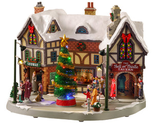 Lemax 05682 The Bell & Thistle Tavern, Sights and Sound piece- Gift Spice