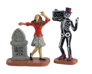 Lemax 12013 Undead Groove, Set of 2