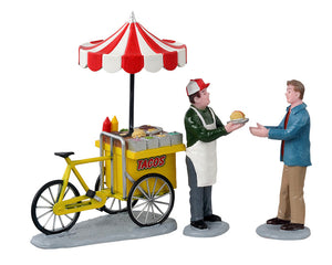 Lemax 12042 Taco Cart, Set of 3
