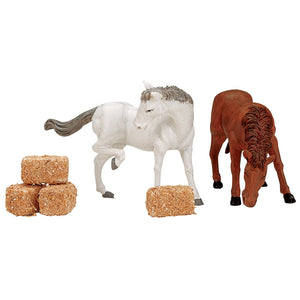 Lemax 12511 Feed For The Horses Set Of 6, Figurine- Gift Spice