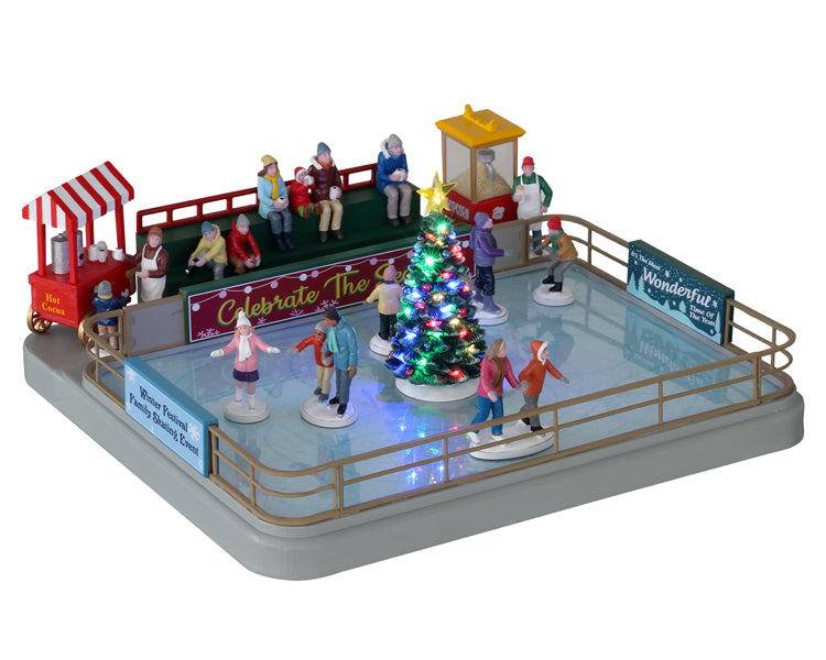 Lemax 14871 Outdoor Skating Rink