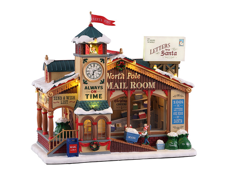 Lemax 15733 North Pole Mail Room
