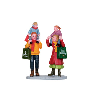 Lemax 22022 Family Christmas Shopping, Figurine- Gift Spice