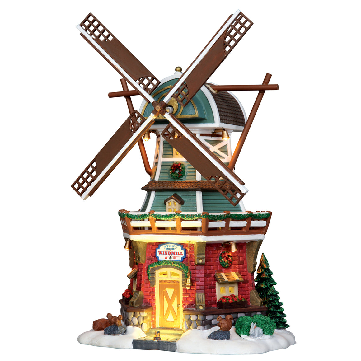 Lemax 25384 Stony Brook Windmill, Sights and Sound piece- Gift Spice