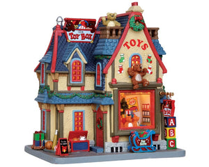Lemax 25385 The Toy Box, Standard Lighted Building- Gift Spice