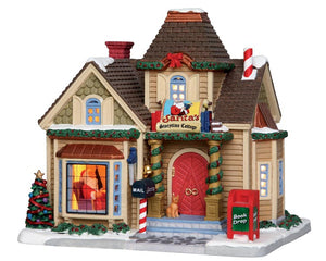 Lemax 25418 Santa's Storytime Cottage, Standard Lighted Building- Gift Spice
