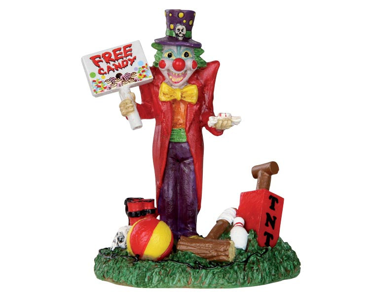 Lemax 32102 Free Candy Clown, Figurine- Gift Spice