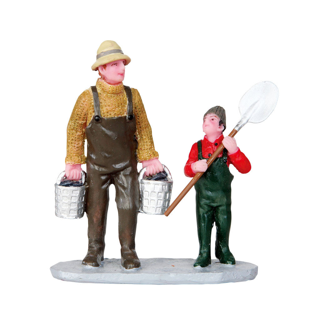 Lemax 32140 Clam Digging, Figurine- Gift Spice