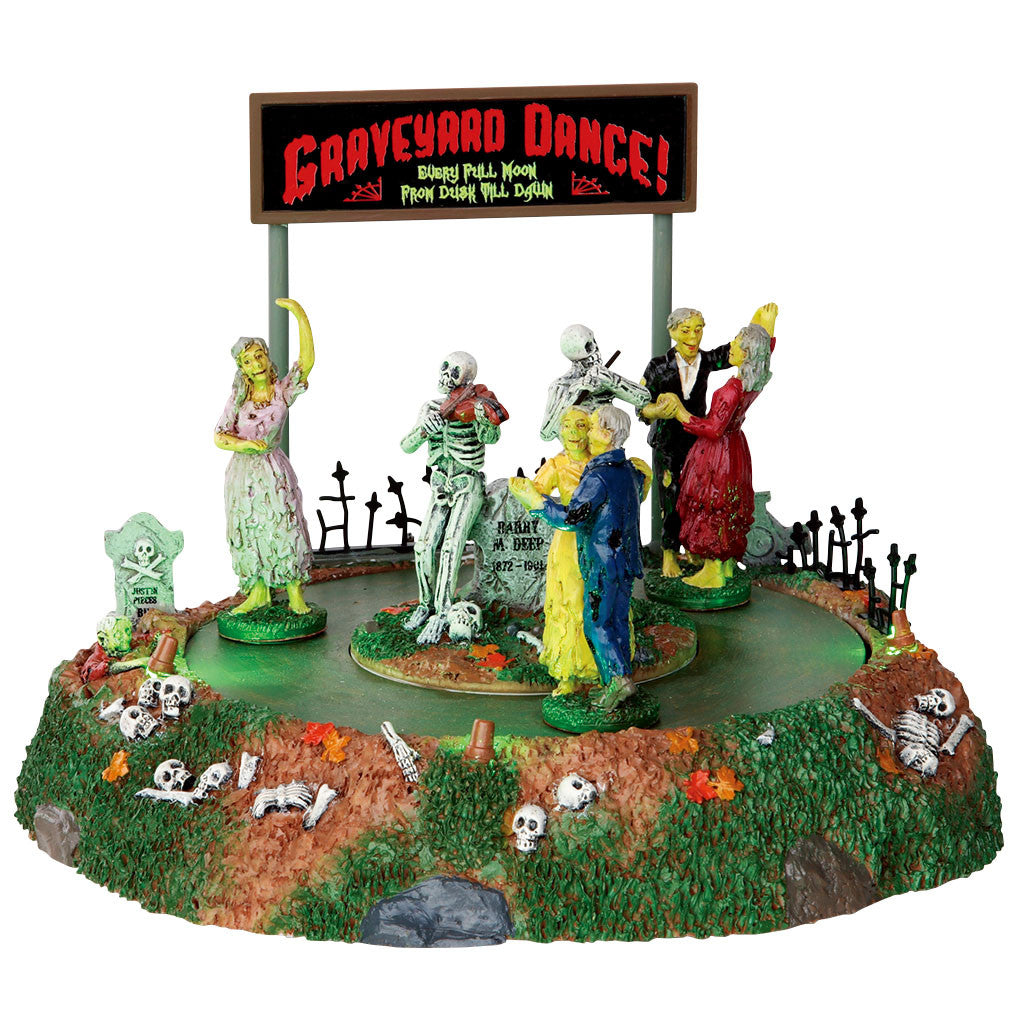 Lemax 34601 Graveyard Dance, Animated Table Piece- Gift Spice