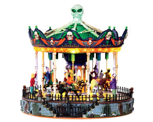 Lemax 34605 Scary-Go-Round, Sights and Sound piece- Gift Spice