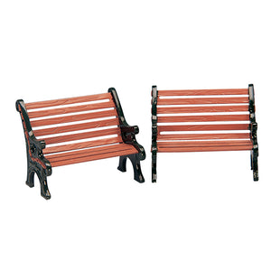 Lemax 34895 Park Bench, set of 2, Accessory- Gift Spice